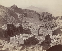 Ruins of ancient Buddhist settlement, Takht-i-Bhai